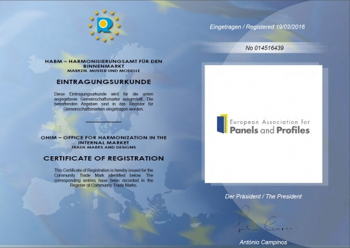 PPA-Europe's Registration Certificate